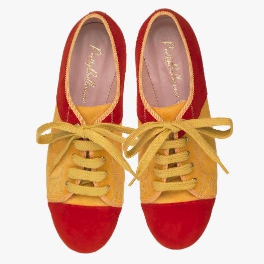 Pretty Ballerinas Spain World Cup - pair - PVP.175 (1)